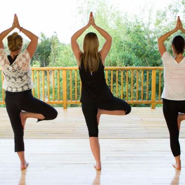 Yoga at Cape South