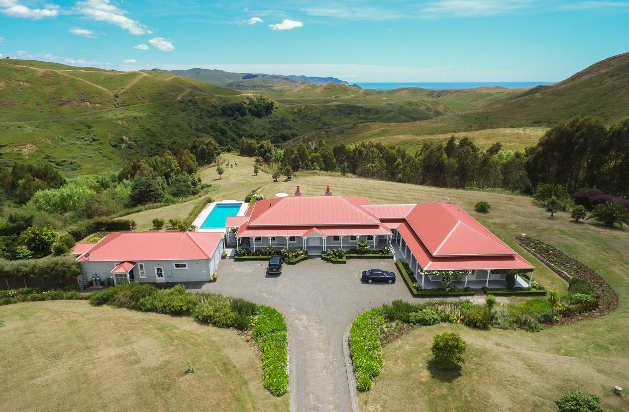 Cape South Aerial view